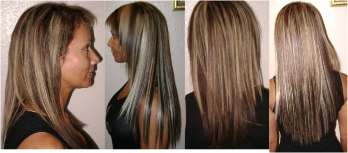 Hair extensions this client wanted her hair to feel fuller and long pmusecretfo Image collections